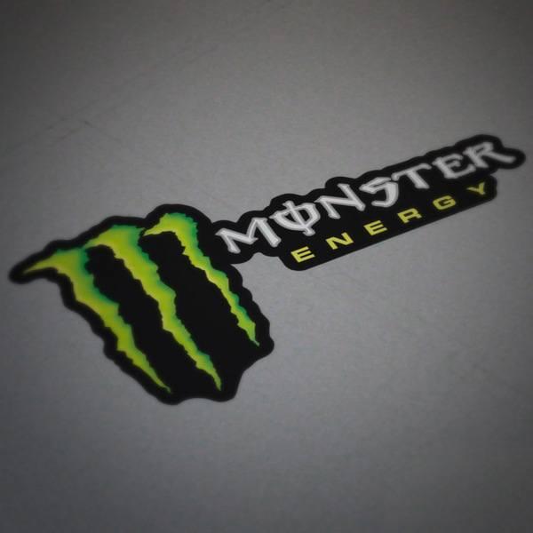 Aufkleber: Monster Energy 4
