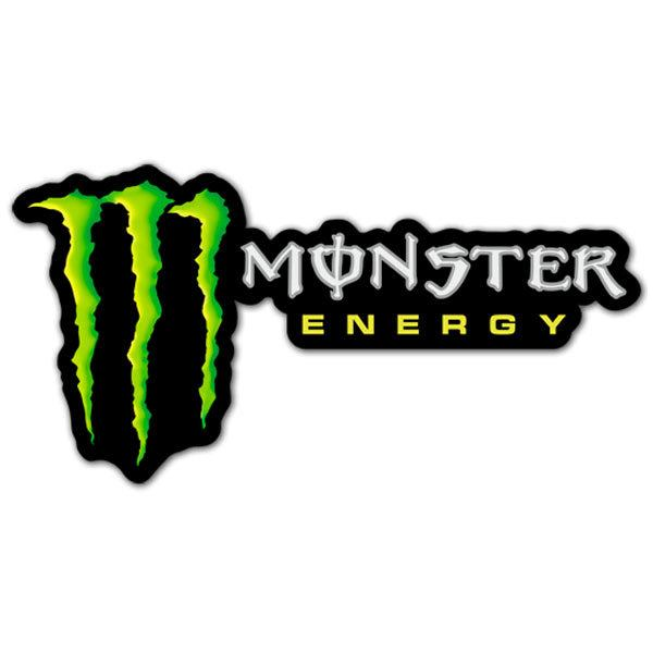 Aufkleber: Monster Energy 4