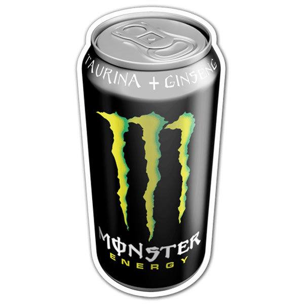 Aufkleber: Monster Energy Dose 1