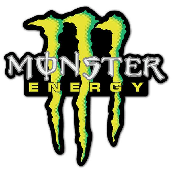 Aufkleber: Monster Energy 5