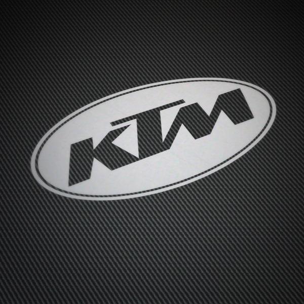 Aufkleber: KTM