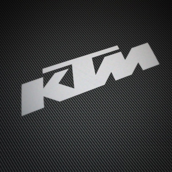 Aufkleber: KTM 2