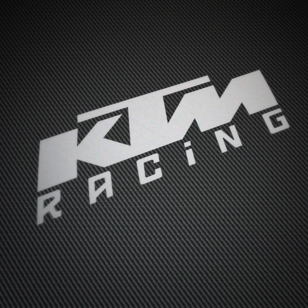 Aufkleber: KTM Racing