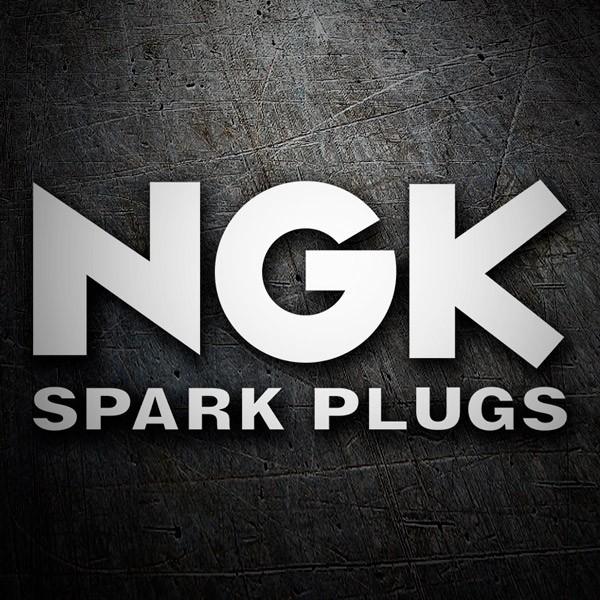 Aufkleber: NGk Spark Plugs