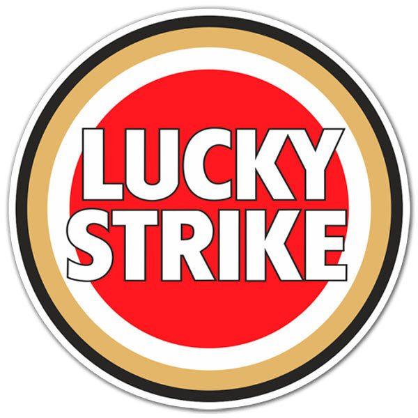 Aufkleber: Lucky Strike Farbe