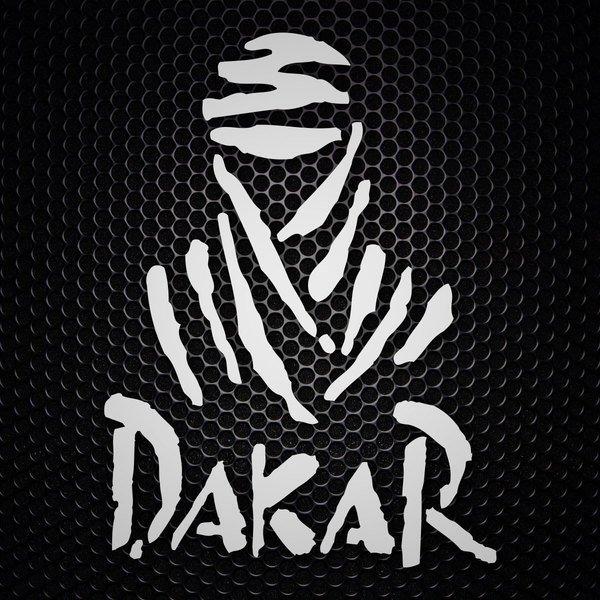 Aufkleber: Logo der Rallye Dakar