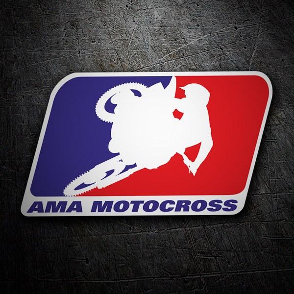 Aufkleber: Ama Motocross