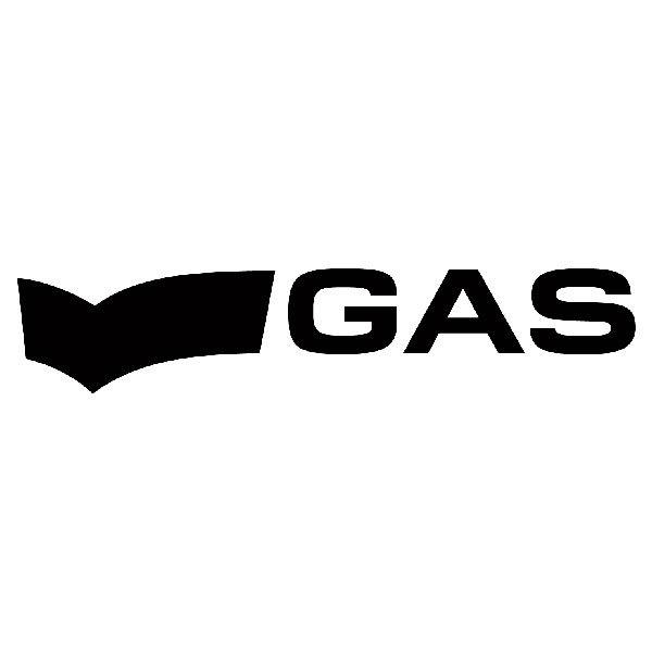Aufkleber: Gas Blue Jeans 2