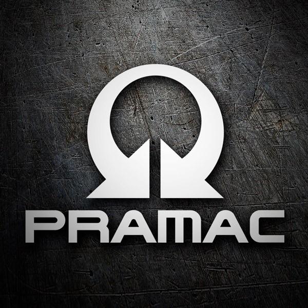 Aufkleber: Logo Pramac