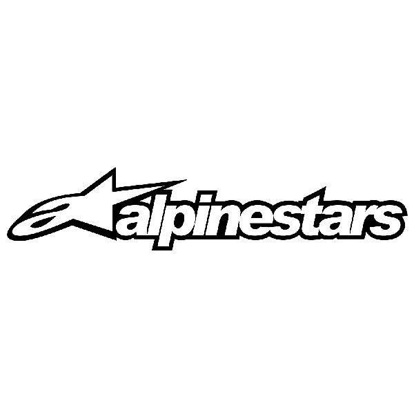 Aufkleber: Alpinestars
