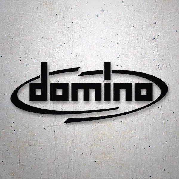 Aufkleber: Domino