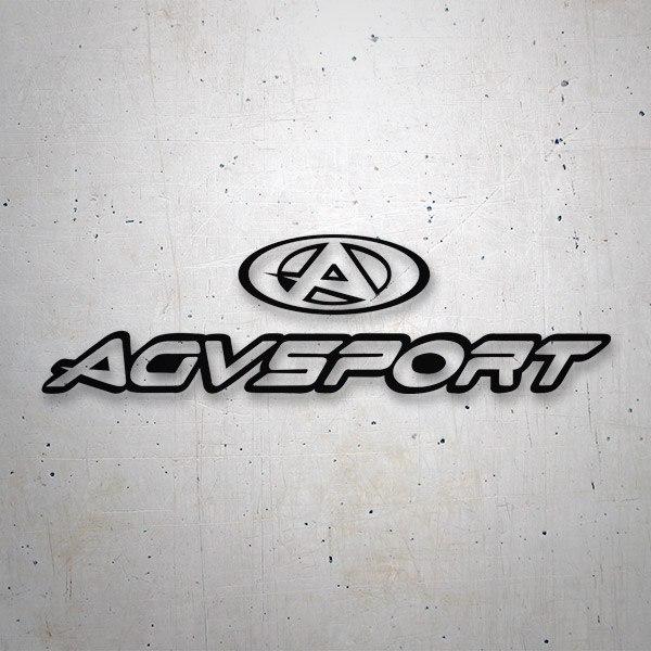 Aufkleber: Agv Sport 2