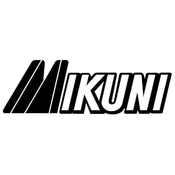Aufkleber: Mikuni