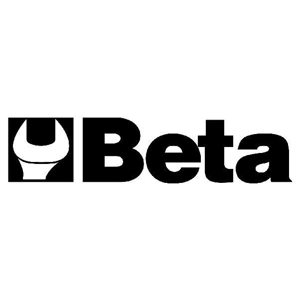 Aufkleber: Beta