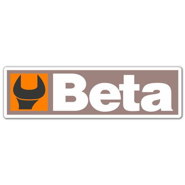 Aufkleber: Beta 2