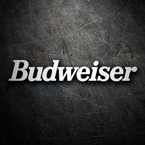 Aufkleber: Budweiser 1