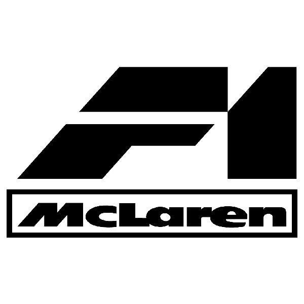 Aufkleber: F1 Mclaren