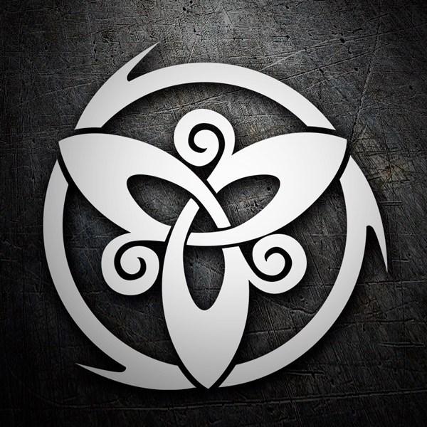 Aufkleber: Cagiva logo