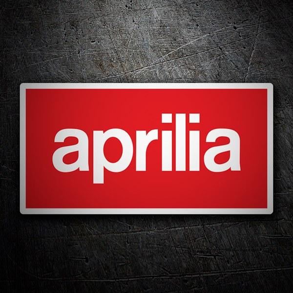 Aufkleber: Aprilia