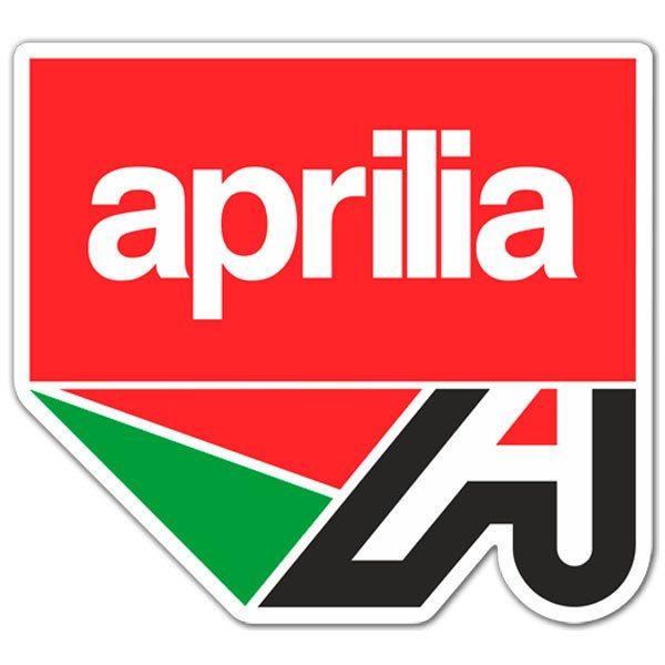 Aufkleber: Aprilia logo 2