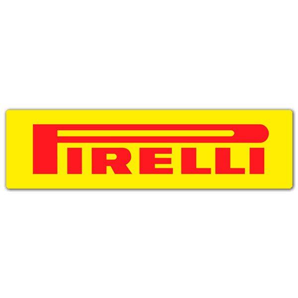 Aufkleber: Pirelli 4