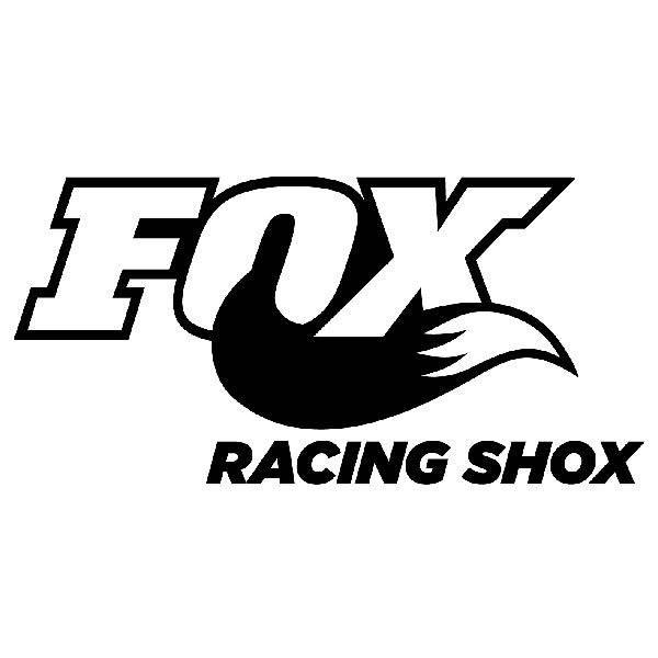 Aufkleber: Fox Racing Shox