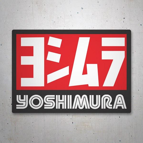 Aufkleber: Yoshimura 6