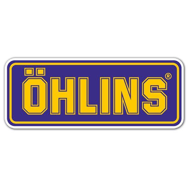 Aufkleber: Ohlins 3