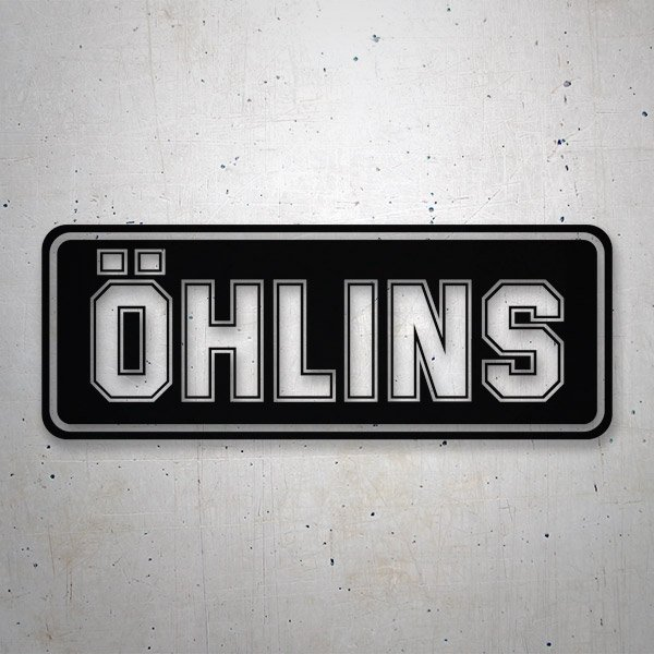 Aufkleber: Ohlins