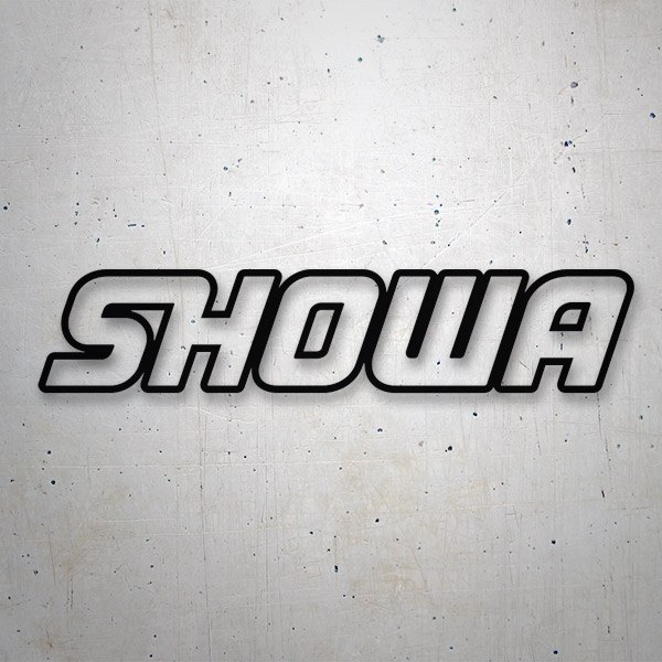 Aufkleber: Showa 2