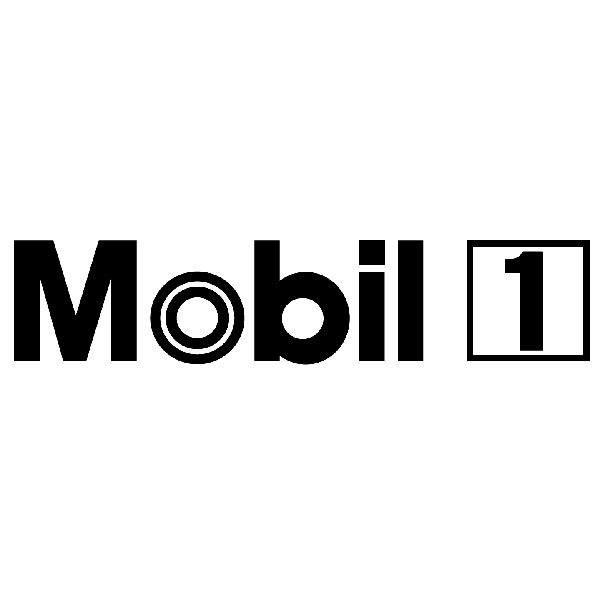 Aufkleber: Mobil 1 - 2