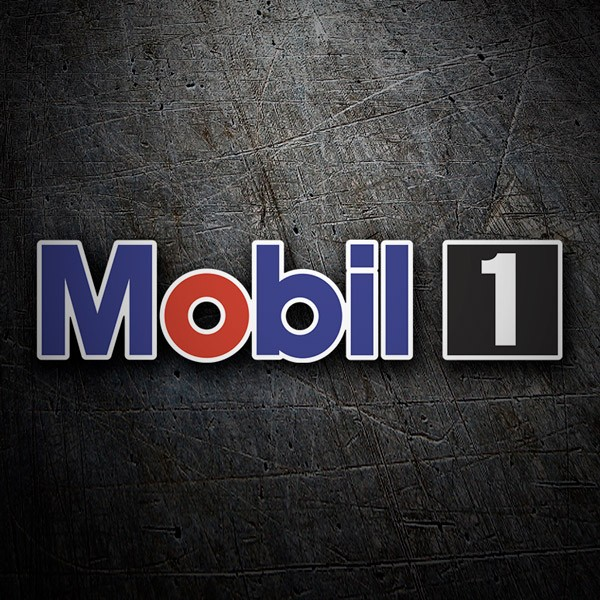 Aufkleber: Mobil 1 -4