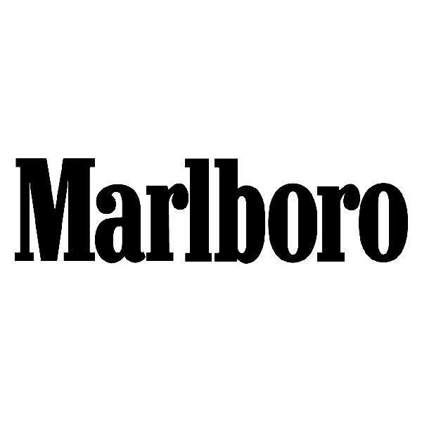 Aufkleber: Marlboro