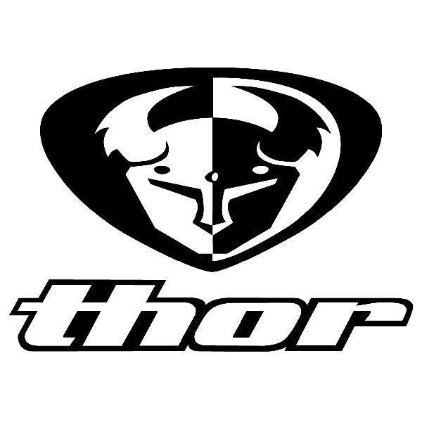 Aufkleber: Thor 1