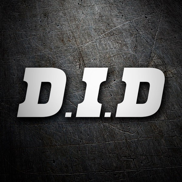 Aufkleber: D.I.D
