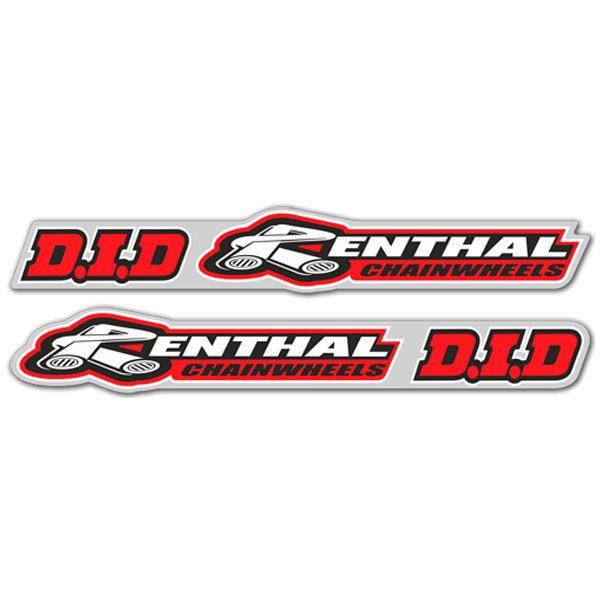 Aufkleber: Kit Renthal + D.I.D
