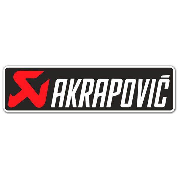 Aufkleber: Akrapovic