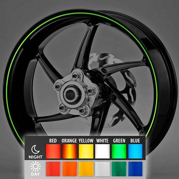 Aufkleber: Neon kit Felgenrandaufkleber 3 mm.