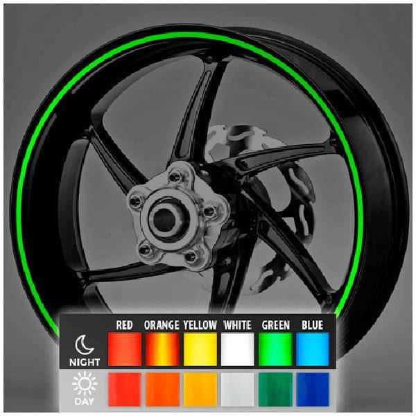 Aufkleber: Neon kit Felgenrandaufkleber 6 mm.