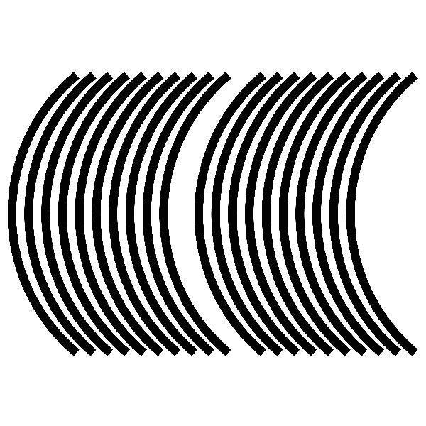 Aufkleber: Generic kit Felgenrandaufkleber 10 mm.