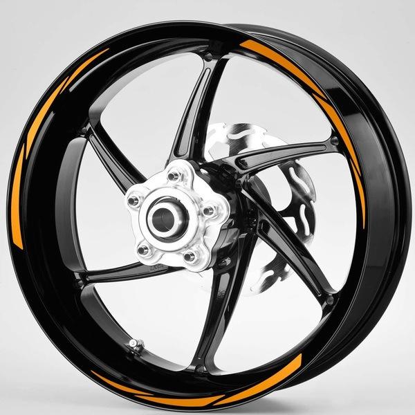 Aufkleber: MotoGP Style 2 kit Felgenrandaufkleber