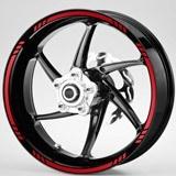 Aufkleber: MotoGP Style 3 kit Felgenrandaufkleber