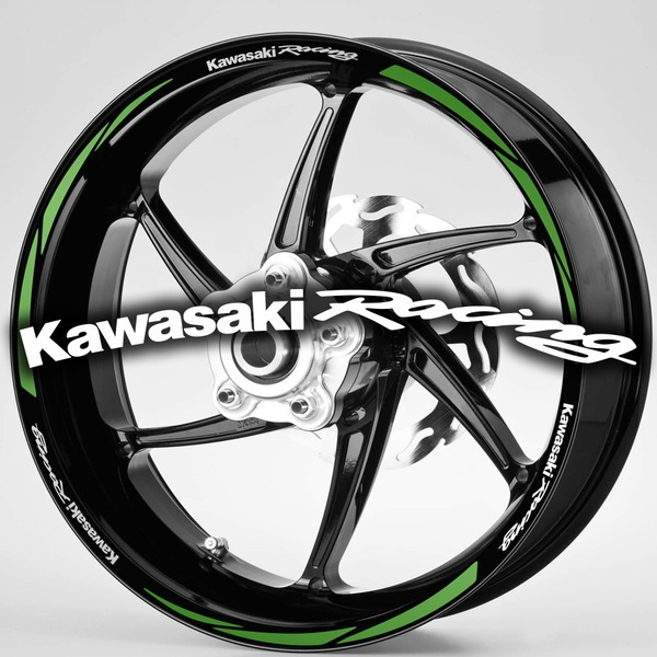 Aufkleber: MotoGP Kawasaki Racing kit Felgenrandaufkleber