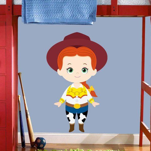 Kinderzimmer Wandtattoo: Jessie