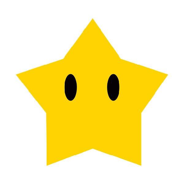 Kinderzimmer Wandtattoo: Star