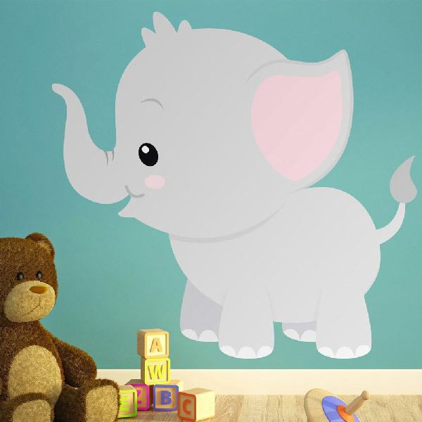 Kinderzimmer Wandtattoo: Elefant Vincent