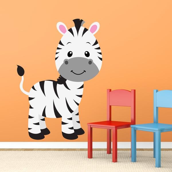 Kinderzimmer Wandtattoo: Zebra Zoe