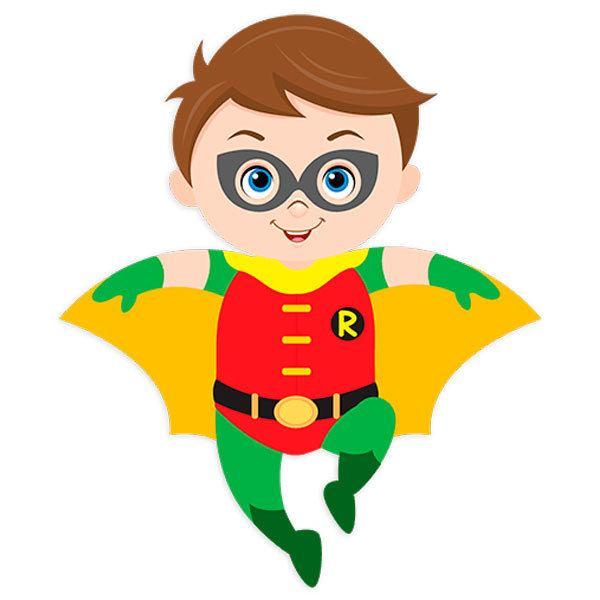 Kinderzimmer Wandtattoo: Robin Fliegen