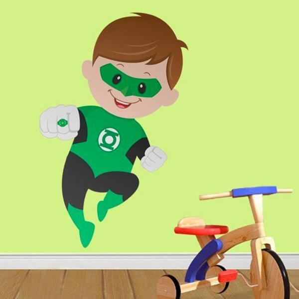 Kinderzimmer Wandtattoo: Green Lantern