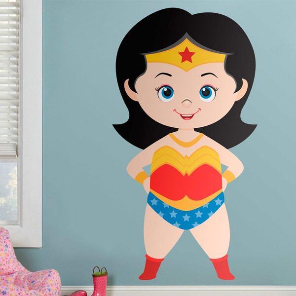 Kinderzimmer Wandtattoo: Wonderwoman